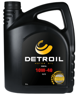 Масло DETROIL 10W-40 Mineral (5л)